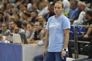Trénerka Young Angels Zuzana Žirková.