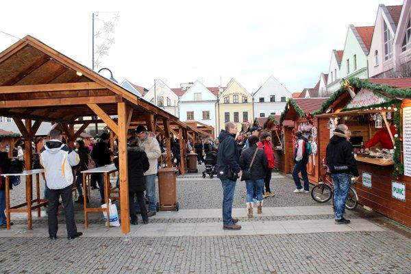 Na Mariánskom námestí bude počas trhov 14 stánkov s občerstvením.