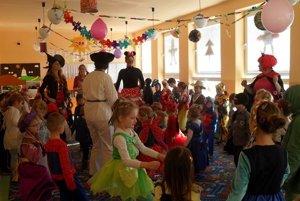 Nedávno sa maskami hemžila materská škola v Diviackej Novej Vsi.