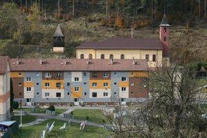 Rudňany zrekonštruované byty
