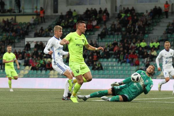 Tréner MŠK Jaroslav Kentoš po zápase povedal, že po druhom góle jeho mužstvo prestalo hrať.