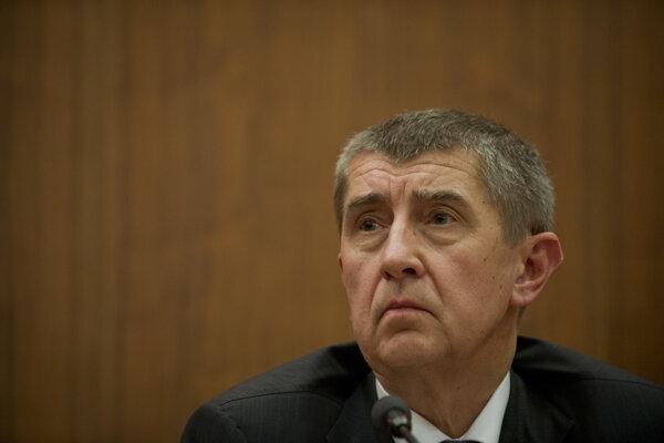 Český minister financií Andrej Babiš