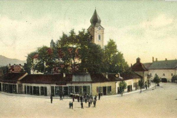 Staré centrum mesta.