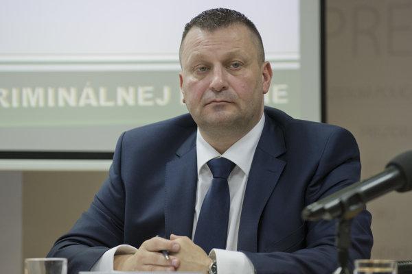 Bývalý viceprezident Policajného zboru SR Jaroslav Málik.