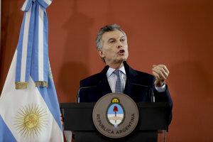 Argentínsky prezident Mauricio Macri.