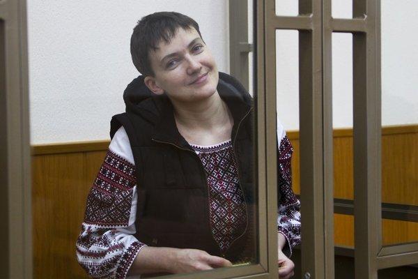 Naďa Savčenko sa stala symbolom Ukrajiny, odporu proti diktátu Moskvy iženskej sily avytrvalosti.