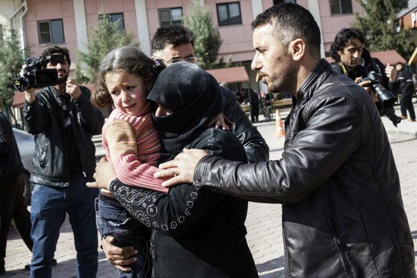 Útok na kliniku v severnej Sýrii.