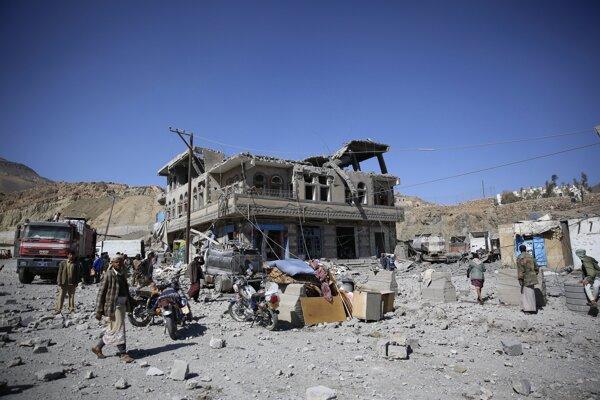 Humanitárná pomoc je v krajine veľmi potrebná.