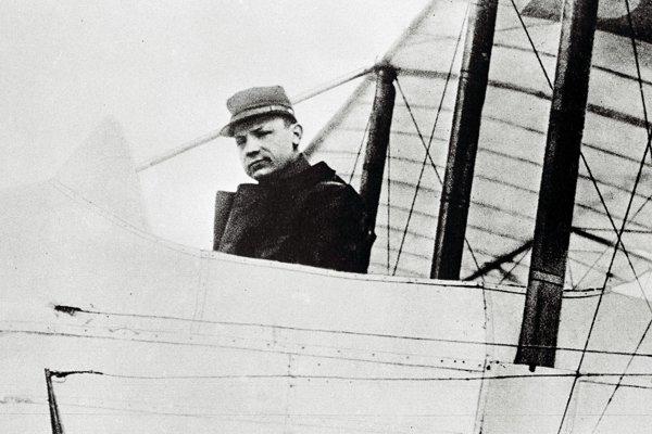 Štefánik ako pilot francúzskej armády na srbskom fronte.