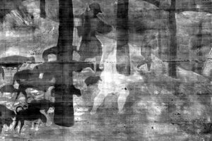 Detail predošlého obrazu pri odbornej analýze.