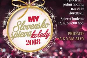 Slovensko spieva koledy 2018