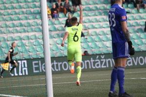 Branislav Sluka premiérovým gólom v lige upravil na 3:0.