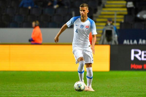 Ľubomír Šatka si 16. októbra obliekol dres reprezentácie v prípravnom zápase proti Švédsku.