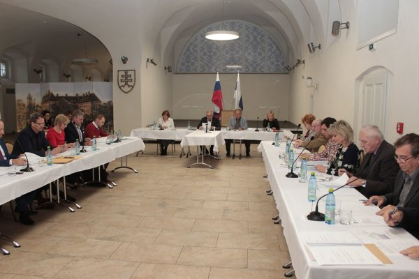 Zasadnutie mestského zastupiteľstva v Holíči.