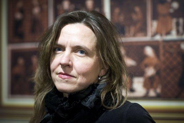 Zuzana Aufrichtová.