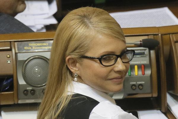 Júlia Tymošenková.