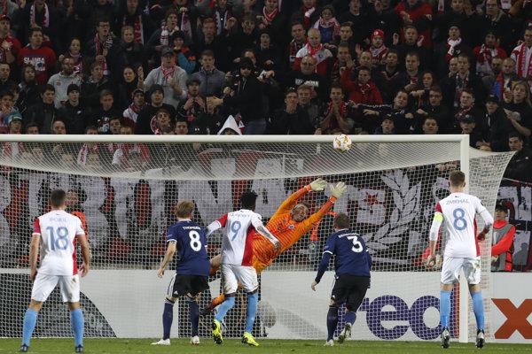 Slavia doma remizovala s Kodaňou.