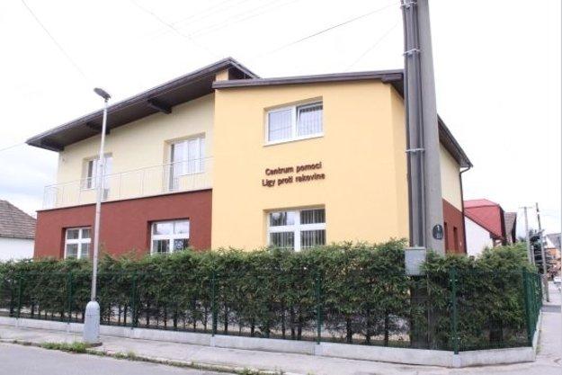 Centrum pomoci Ligy proti rakoviny na Kukučínovej ulici v Martine.