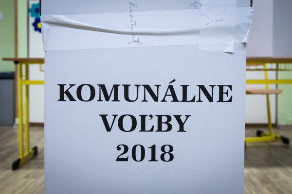 Komunálne voľby 2018.