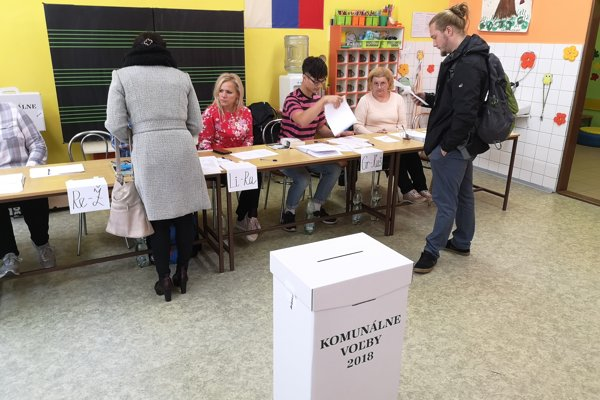 Na sídlisku Sekčov hlásia dobrú volebnú účasť.