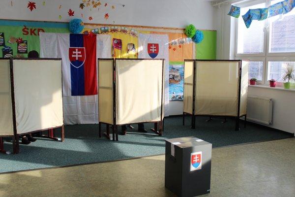Voľby v Červeníku.