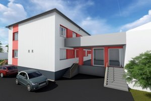 Vizualizácia rekonštrukcie zdravotného strediska