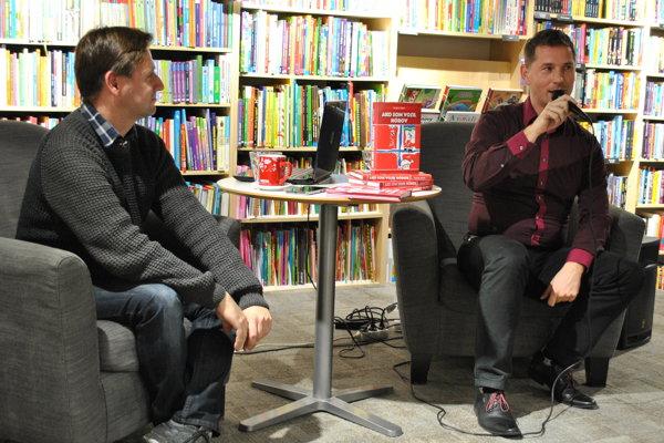 Autor knihy Ako som vozil Nórov Ondrej sokol a Peter Fašung.