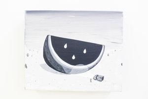 Erik Šill: výstava Čierny melón