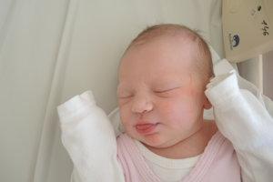 Natália Pažitná (3410g, 50cm) sa narodila 5. novembra Kataríne a Jánovi z Kálnice.