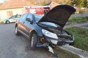 Výsledok nehody.