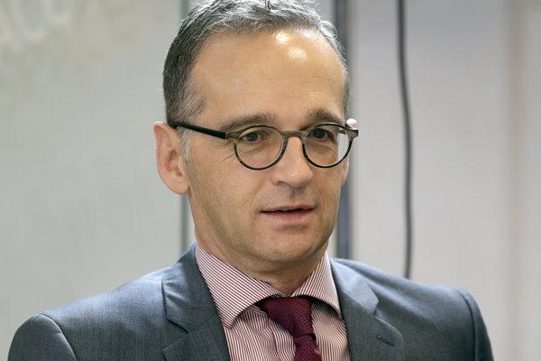 Nemecký minister zahraničia Heiko Maas.