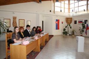 Volebná komisia v Smižanoch
