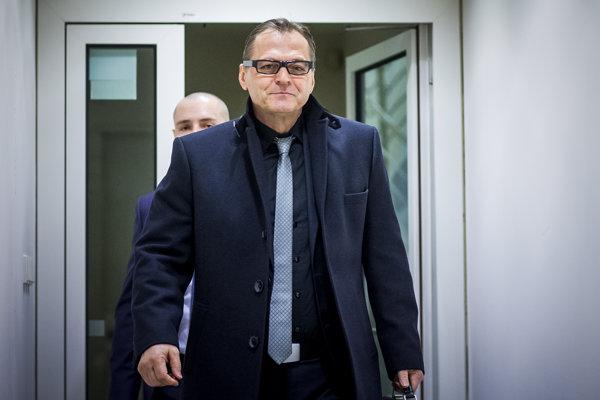 Riaditeľ SIS Anton Šafárik.