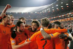 Holandsko oslavuje dôležité víťazstvo.