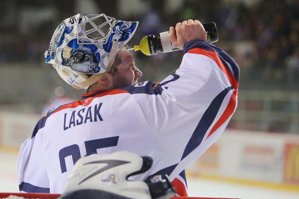 Ján Lašák počas minuloročného Slovakia Cupu v reprezentačnom drese.