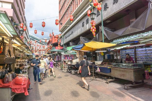 Čínska štvrť, Kuala Lumpur, Malajzia