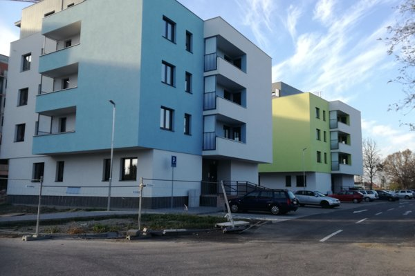 Nové nájomné byty v Šali.