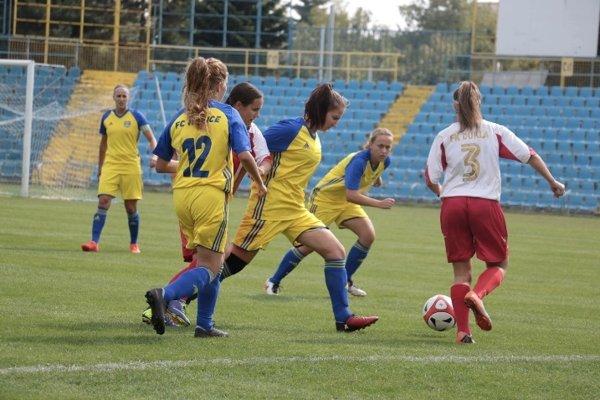 Košické futbalistky sa v premiérovej polsezóne medzi slovenskou elitou počínali viac než solídne.