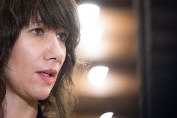 Podpredsedníčka parlamentu a členka strany SaS Lucia Ďuriš Nicholsonová.