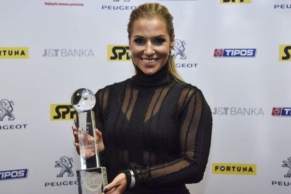 Tenistka roka 2018 Dominika Cibulková.