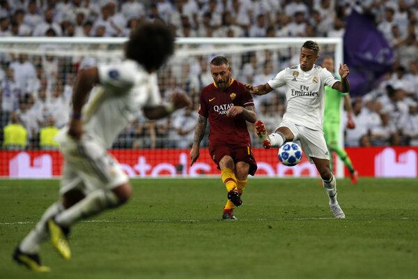 AS Rím - Real Madrid. Ilustračná snímka.