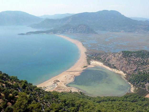 Pláž Iztuzu.