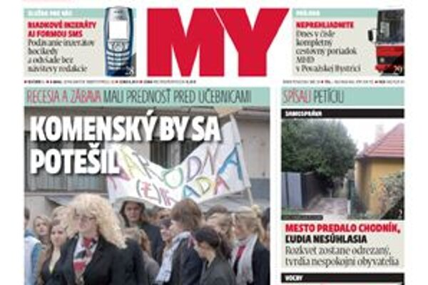 My Noviny stredného Považia prinášajú opäť veľa zaujímavých informácií z okresov Považská Bystrica, Púchov a Ilava.