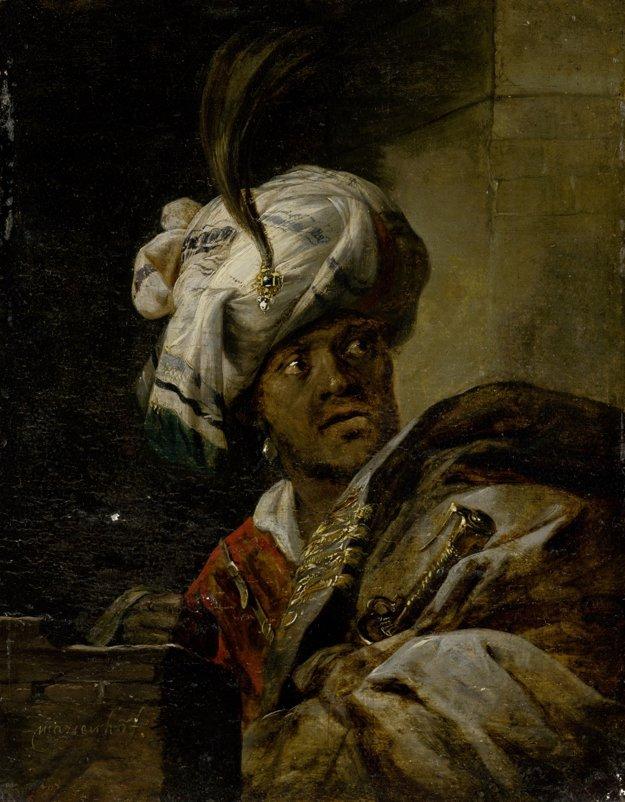 Jansz. Aert van Marienhof: Orientálec v turbane. 1640 – 1650.