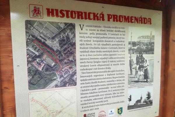Dobrovoľníci prinavrátia podobu historickej promenády.