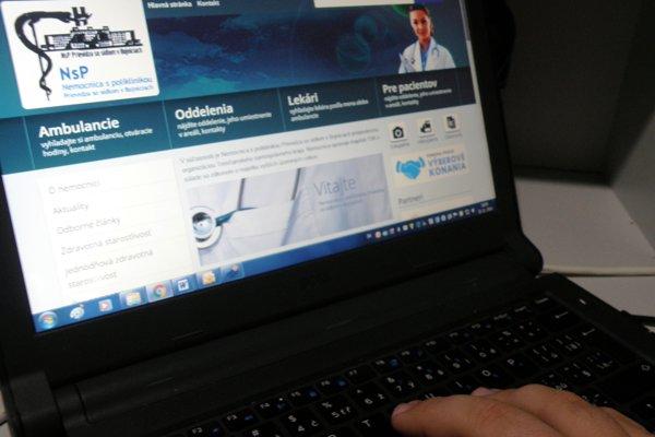Internetová stránka bojnickej nemocnice získala ocenenie.