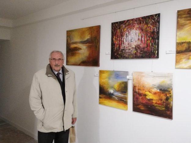 Jedným zautorov myšlienky galérie je Július Morávek.