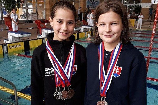 Ema Malíková (vľavo) opäť úspešná.