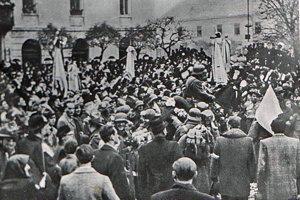 Nadšenie 8. novembra 1938.