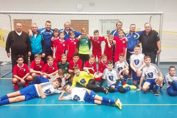 Dva výbery ObFZ Nitra si zahrali na turnaji OFS Olomouc.